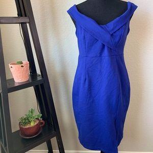 Lulus royal blue dress in size large